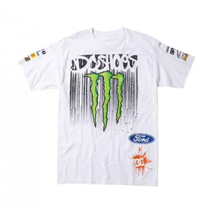 Tee Shirt Dc Shoes Monster