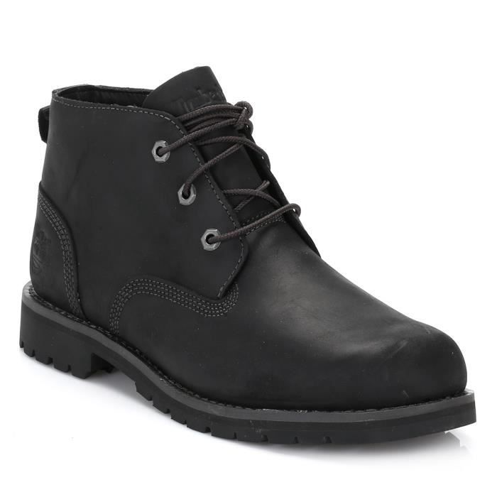 timberland homme noir larchmont waterproof chukka botte black achat vente botte cdiscount. Black Bedroom Furniture Sets. Home Design Ideas