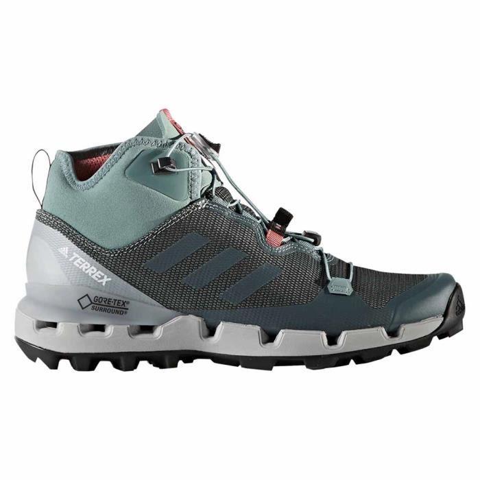 Chaussures femme Randonnée Adidas Terrex Fast Mid Gtx Surround ...