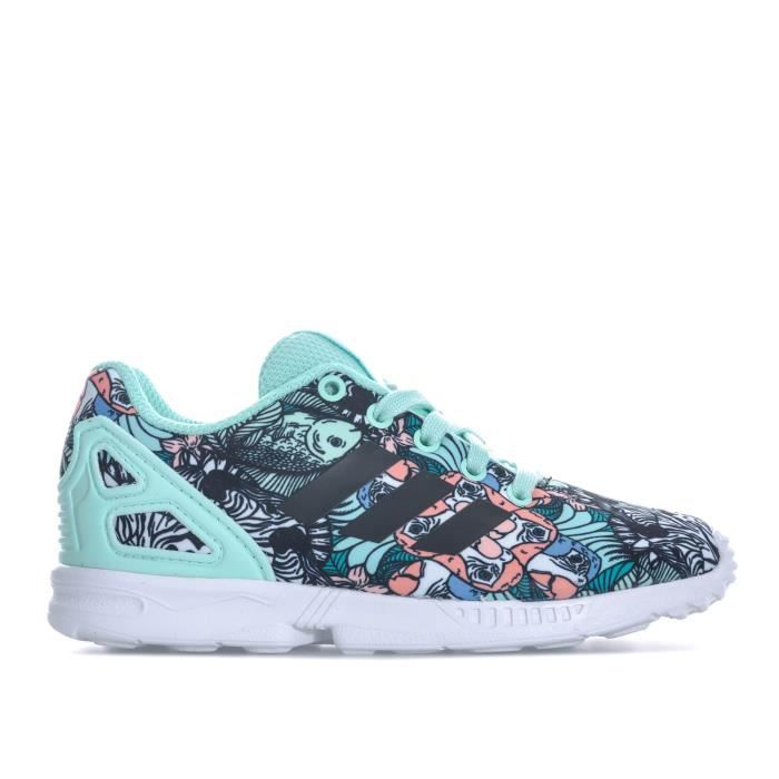Zx Baskets Menthe Adidas Flux Fille Originals b7gYfy6