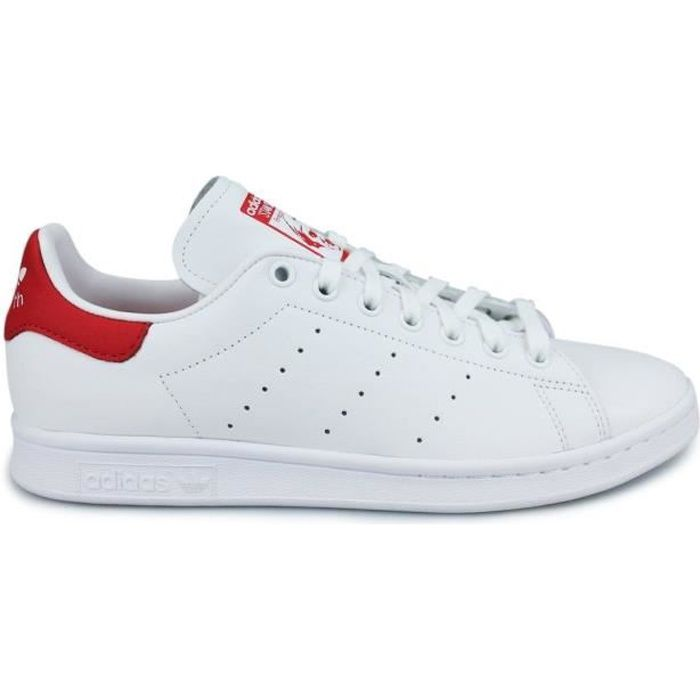 adidas original stan smith femme rouge