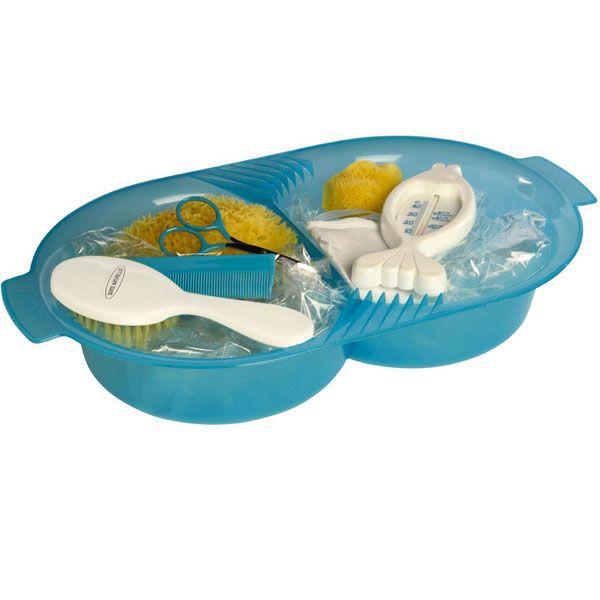 KIT BAIN BÉBÉ DBB REMOND Set de toilette pour bébé - Turquoise