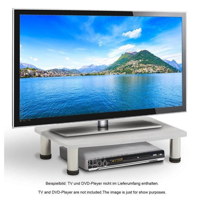 Ricoo Table Tv Led Support Televiseur Fs051w Tv Led Televiseur Meuble Tele Meuble Hifi Meuble Tv Design Table Pour Ecran Plat Est