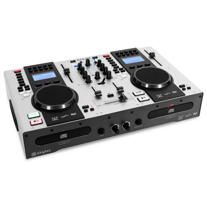 contr leur dj double cd usb mp3 platine dj avis et prix pas cher cdiscount. Black Bedroom Furniture Sets. Home Design Ideas