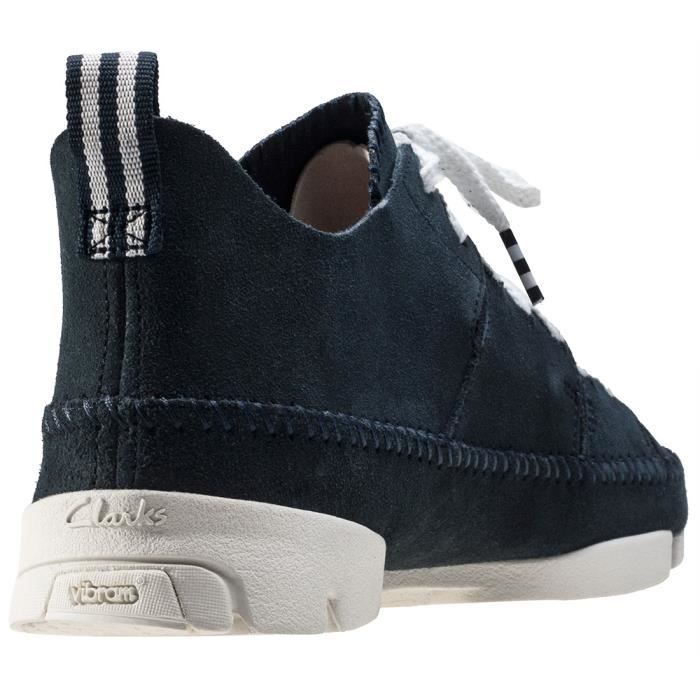 Clarks Originals Trigenic Flex Hommes Baskets Dark Blue - 7 UK
