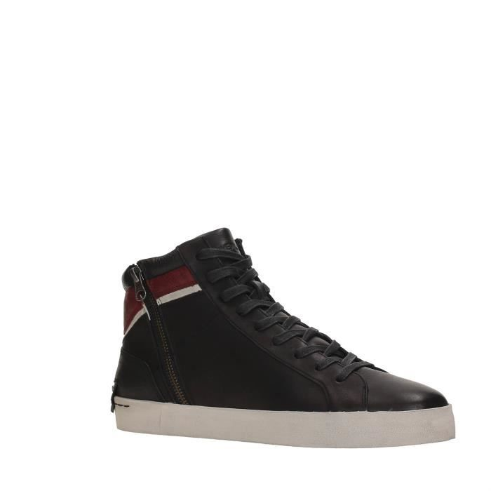 Crime Sneakers Homme BLACK, 45