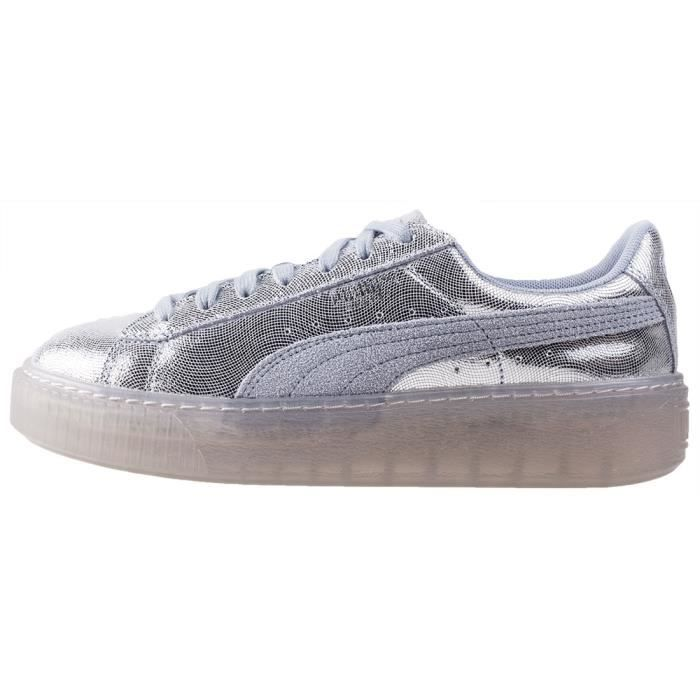 Puma Basket Platform Ns Icelandic Femmes Baskets Bleu clair - 5 UK