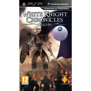 JEU PSP WHITE KNIGHT CHRONICLES ORIGINS / Jeu console PSP