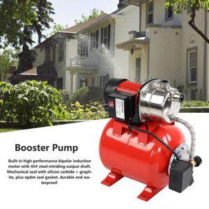 POMPE ARROSAGE Pompe auxiliaire de pression d'eau en acier inoxyd