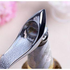 Nouveau Bague Diamant ouvre-bouteille Faveur Mariage Demoiselle Bridal Shower Cadeau DD