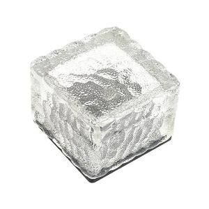 yum® LED énergie solaire étanche Rocher Lumière Chemin Jardin Ice Cube  Brique lampe Décor vert