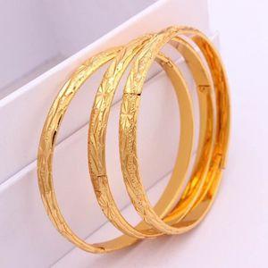 BRACELET - GOURMETTE 3 pièces de gros Bracelet féminin Bijoux ouverts O