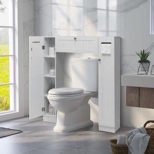 COLONNE - ARMOIRE WC Meuble WC Armoire de toilette placard de salle de