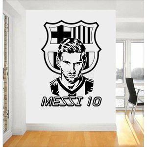 OBJET DÉCORATION MURALE  80*60CM Lionel Messi M. football Club de Barcelon
