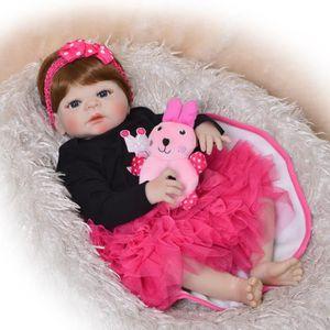 POUPÉE Nouveau-né poupée mode 23 ''Reborn poupée bébés co
