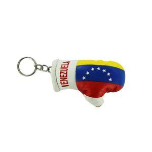 PORTE-CLÉS Porte cles  gant de boxe drapeau venezuela
