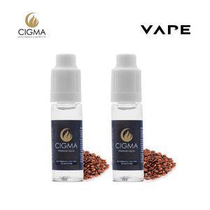 LIQUIDE CIGMA 2 X 10ml E-Liquide   Café   2 Pack   Réalisé