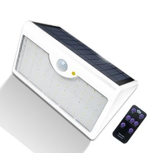 LAMPE DE JARDIN  60 LEDs lampe solaire extérieur avec detecteur de