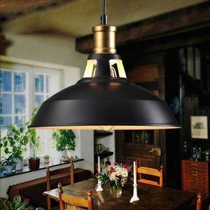 LUSTRE ET SUSPENSION  Rétro Lustre Suspension E27 27cm Luminaire Style