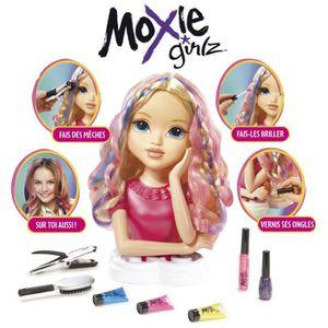 COIFFEUR - ESTHÉTIQUE MOXIE GIRLZ Tête à coiffer et à colorer - Avery