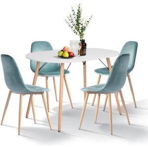 TABLE À MANGER COMPLÈTE Table à manger Rectangle Table de Salon Table Appo
