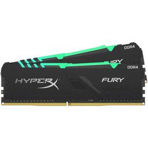 MÉMOIRE RAM HYPERX - Mémoire PC RAM - FURY DDR4 RGB - 16 Go (2