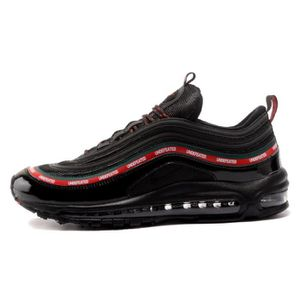 lowest price 8d073 c3ca3 Undefeated x Nike Air Max 97 Homme Femme Mixte Chaussure De Running Noir