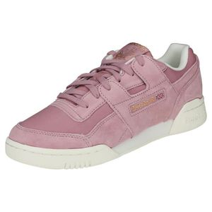 BASKET Reebok Workout Lo Plus Femme Baskets Lilas