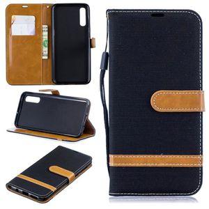 HOUSSE - ÉTUI Noir Housse Coque Pour Samsung Galaxy A50 6.4