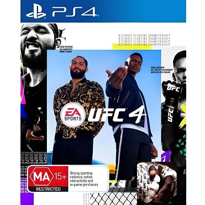 EA SPORT UFC 4 PS4