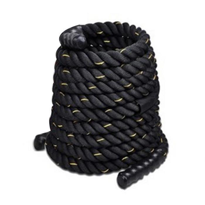 1500*3.8cm SOARROC Corde Ondulatoire Sport Exercice Polyester-Corde de Combat Fitness