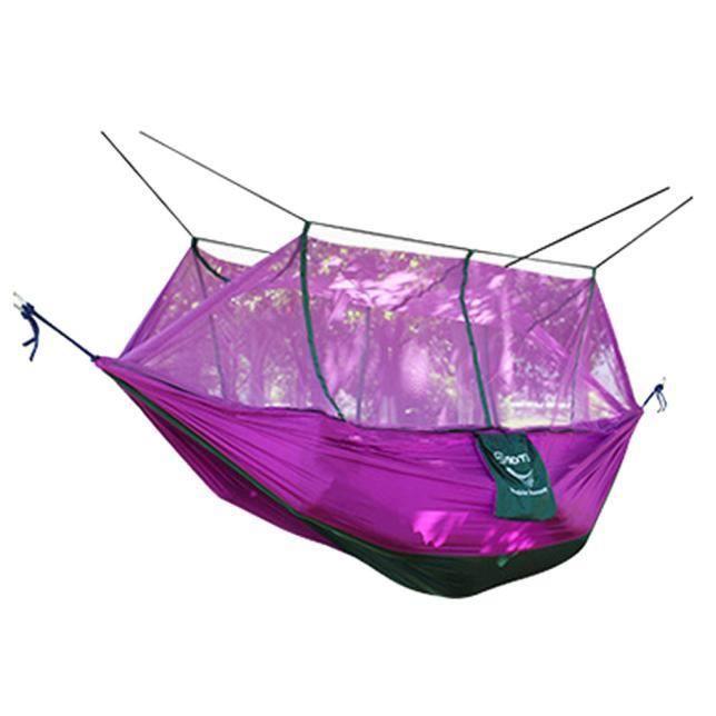 Hamac de parachute de 2 personnes double large extérieur solide de jardin de patio de parc PP_LY * 250