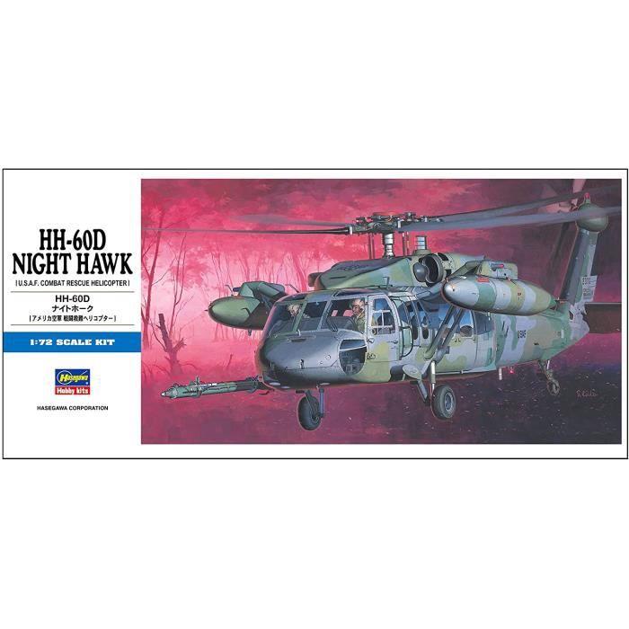 Kits de modélisme d'aéronautisme 00437 1-72 HH-60D Night Hawk 138473