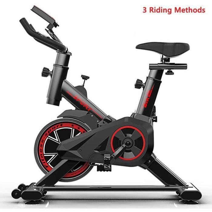 vélo de Spinning, Vélo de Cyclisme intérieur, pour vélo d'entraînement entraîné par Courroie, entraîneur de Fitness à Domicile avec
