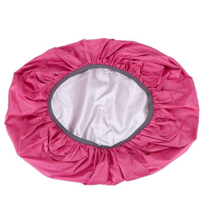 Sac Housse De Pluie 35-70L Protable Étanche Anti-larme Anti-UV Anti-UV Couverture De Sac À Dos pour Camping Rose 45 litres (M)