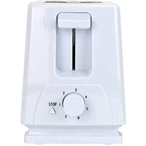 TOASTER MxZas Machine agrave Pain Pratique Machine de Petitdeacutejeuner meacutenage 2 tranches de Chauffeur de crache GrillePai570