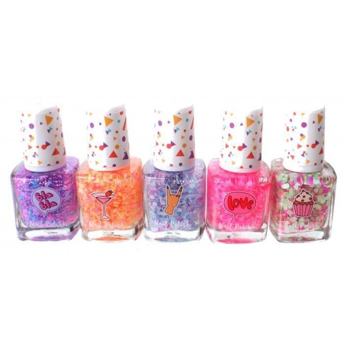 Create It! vernis à ongles Confetti 8 ml filles 5 pièces