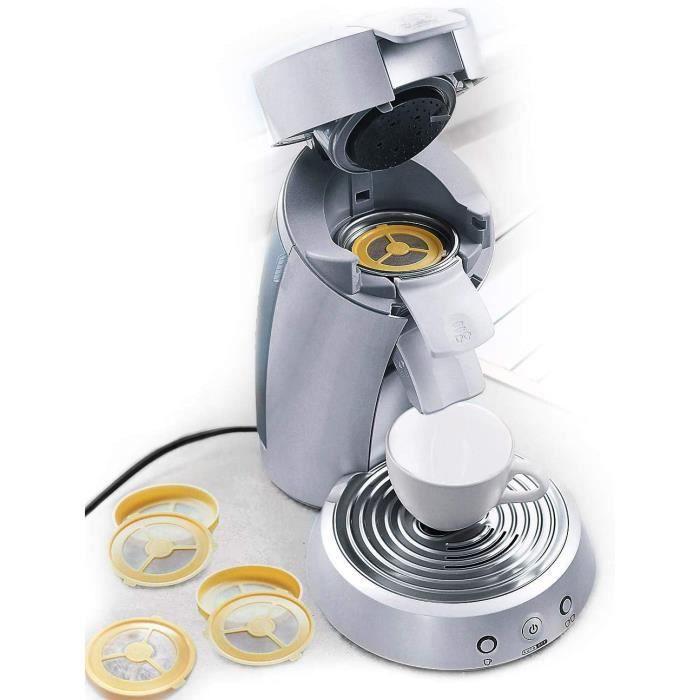 MACHINE A CAFE iltres agrave cafeacute reacuteutilisable pour machines agrave cafeacute agrave capsules I 4 filtres compatibles 619