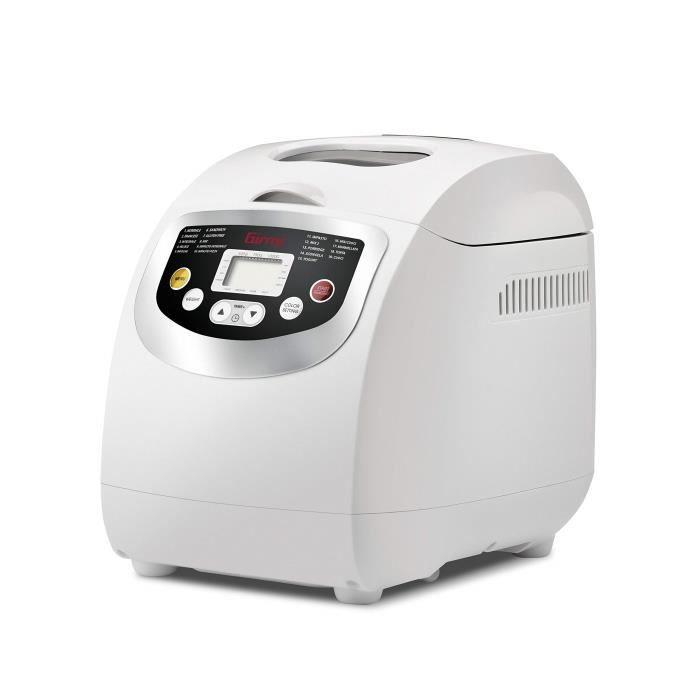 Girmi MP2000 Machine à Pain, Blanc