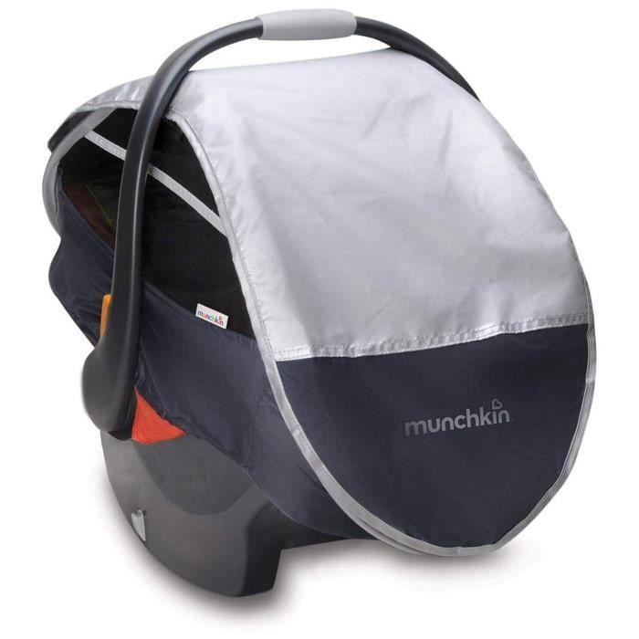 Munchkin Protection Soleil -Pluie -Moustique Rétractable pour Siège Auto