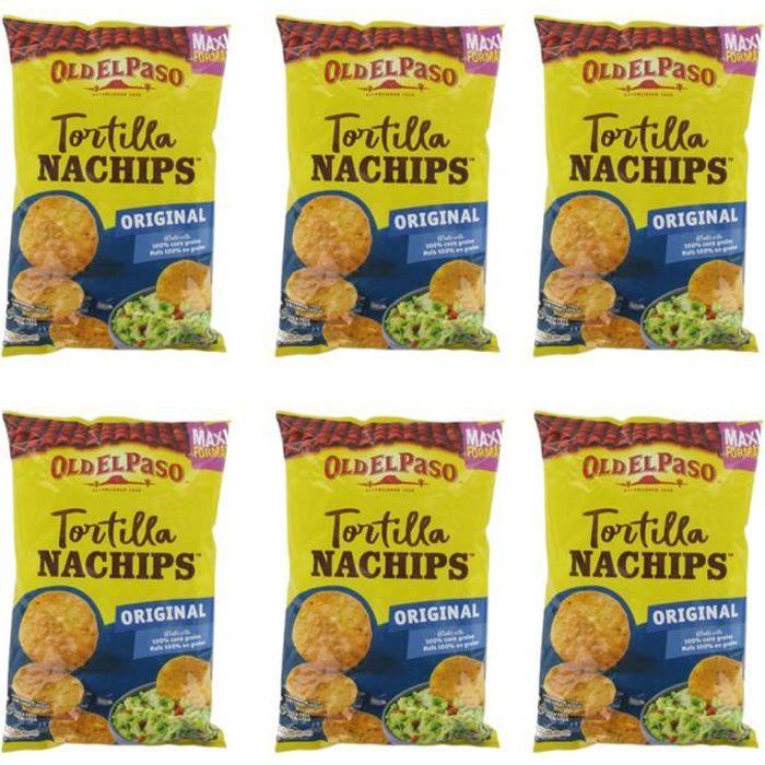 [Lot de 6] Crunchy nachips original Old El Paso - 300g par paquet