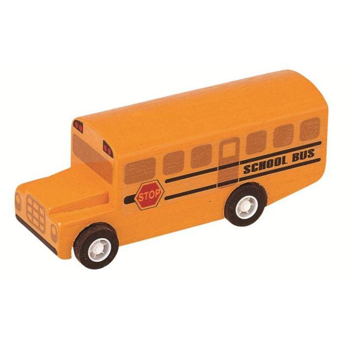 PLAN TOYS Jeu en bois Bus scolaire