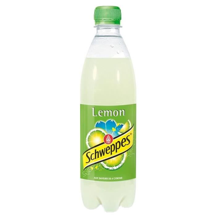 Schweppes Lemon 50cl (pack de 24)
