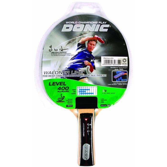 Skidskrot Waldner 400 Raquette de tennis de table Unisexe Vert-gris 26 cm