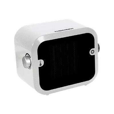 THOMSON THSFC15B-Radiateur soufflant céramique blanc-Fonction ventilation-Puissance 1500 watts
