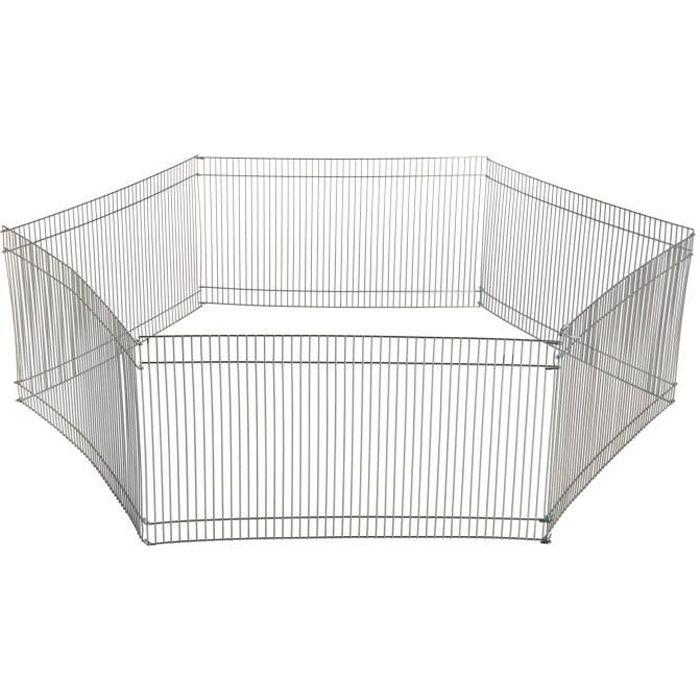 TRIXIE Enclos métal galvanisé - Ø90cm - Pour petit animal