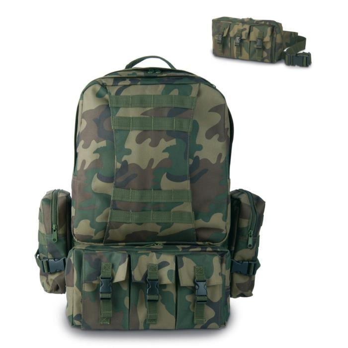 VIRGINIA Sac à dos tactique Platoon - Vert militaire