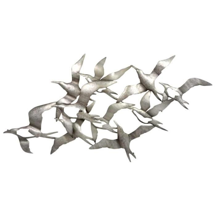 D coration murale mouettes achat vente objet for Decoration murale world metal