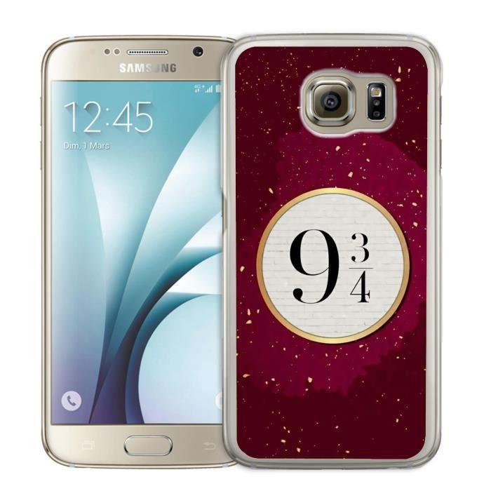 Coque Samsung Galaxy S6 Edge Harry Potter Voie 9 3