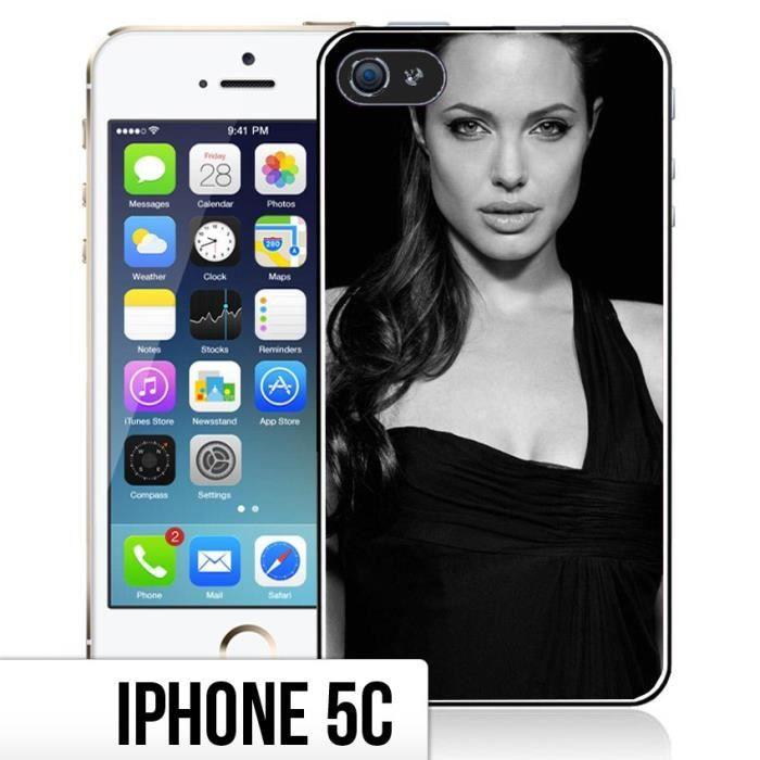 coque iphone 5c angelina jolie